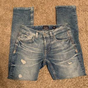 Men's Buckle Jeans